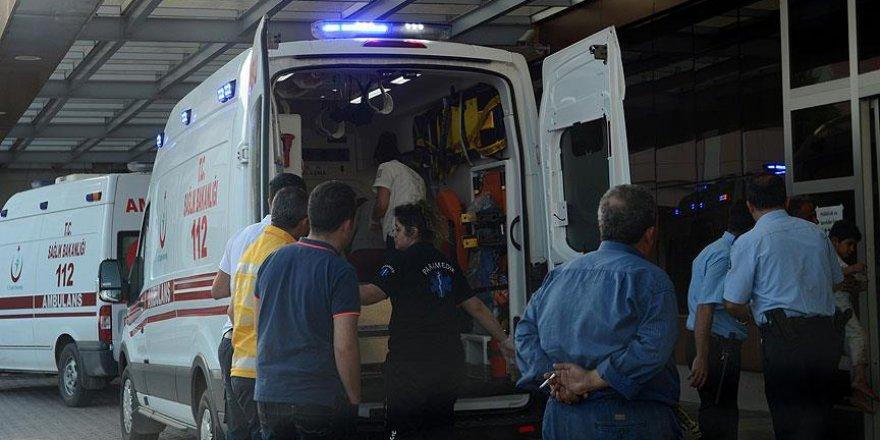 Kilis'te merminin isabet ettiği Suriyeli çocuk yaralandı