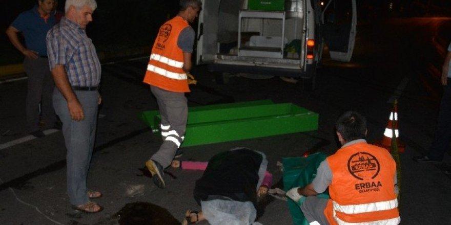 Erbaa'da trafik kazası: 3 ölü