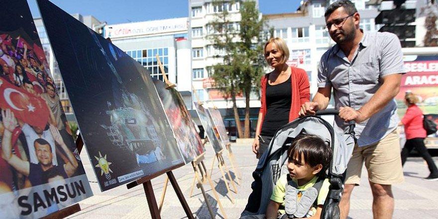 Samsun'da 15 Temmuz Milli İradenin Yükselişi Sergisi
