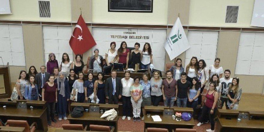 Tepebaşı'nın İzmir'den konukları