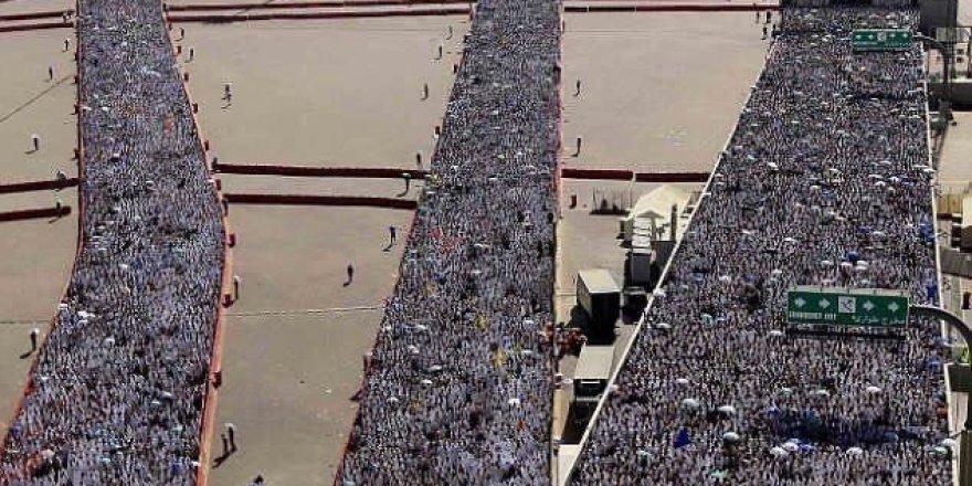 2 milyon hacı adayının Arafat yolculuğu