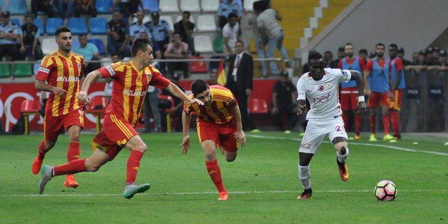 Galatasaray Kayseri'de puan bıraktı