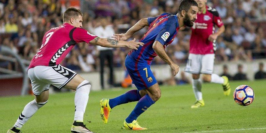 Barcelona'ya Alaves şoku