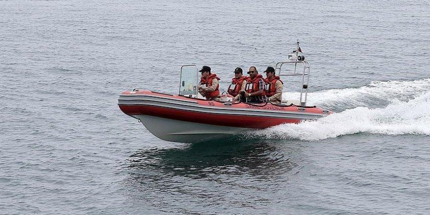 İzmir'de tekne kazası