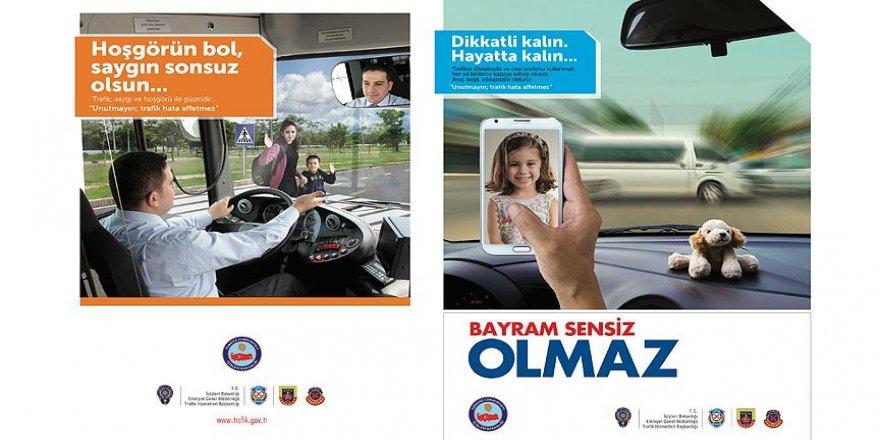 Bayramda trafik güvenliği için 200 bin broşür dağıtılacak