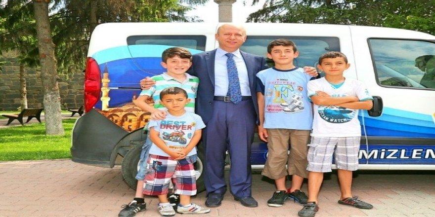 Kocasinan'da dört dörtlük kurban bayramı hizmeti