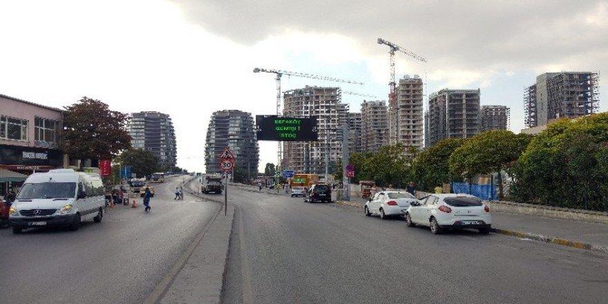 İstanbul'da bayram öncesi yollar boşaldı
