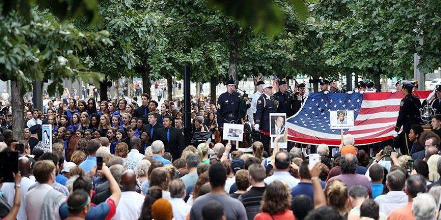 ABD'de 11 Eylül saldırıları törenlerle anıldı