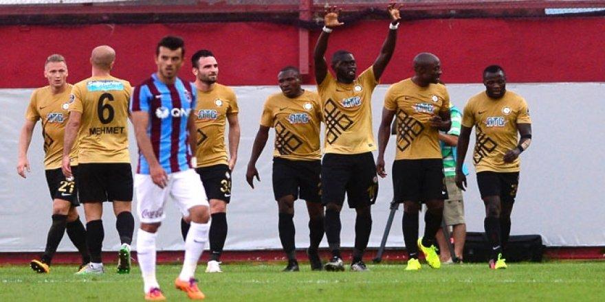 Osmanlıspor, Trabzon'da 3 puanla tanıştı