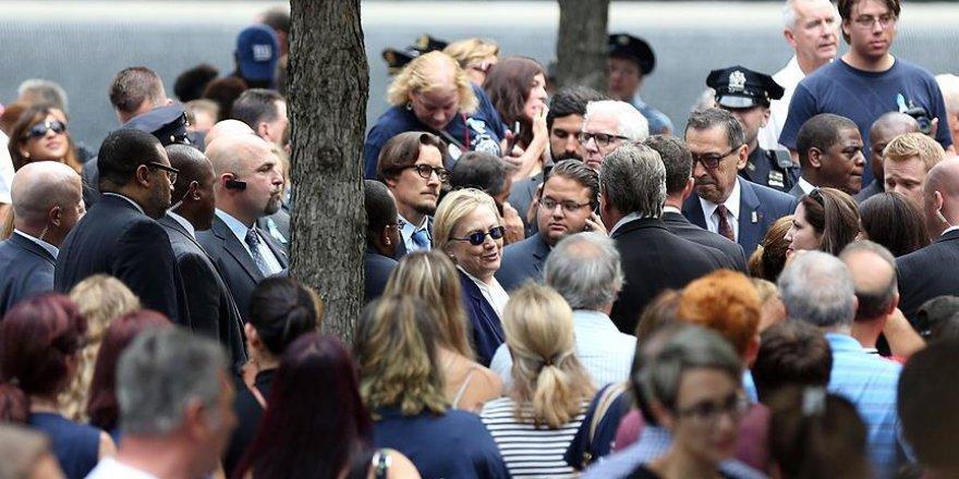 Clinton 11 Eylül törenlerinde rahatsızlandı