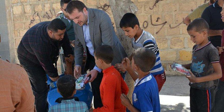 AK Parti Gençlik Kolları Cerablus'ta Suriyelilerle buluştu