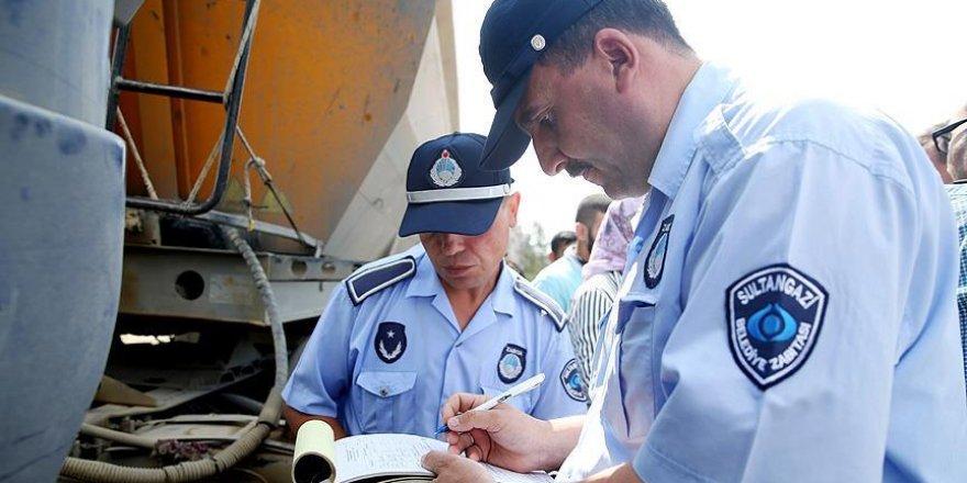 Açık havada kurban kesen vatandaşa 105 lira ceza