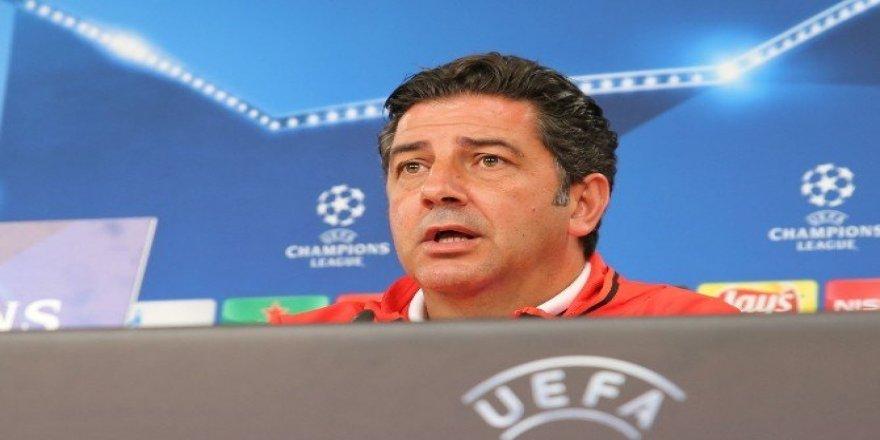 """Rui Vitoria: """"Büyük bir Avrupa takımıyız"""""""