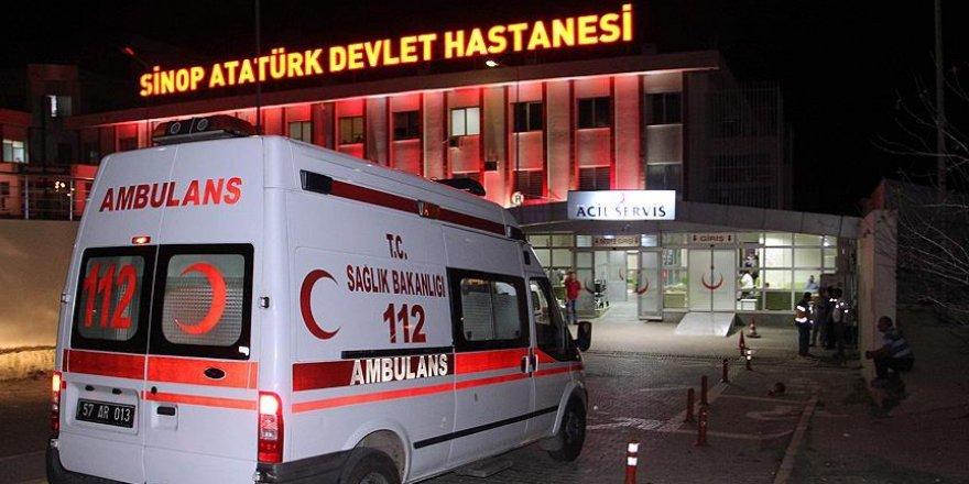 Sinop'taki gerginlikte yaralanan bir kişi hayatını kaybetti