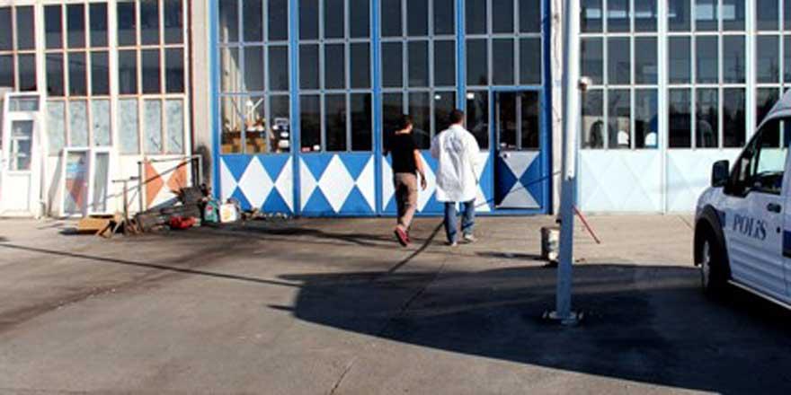 Konya'da çelik kasa hırsızlığı