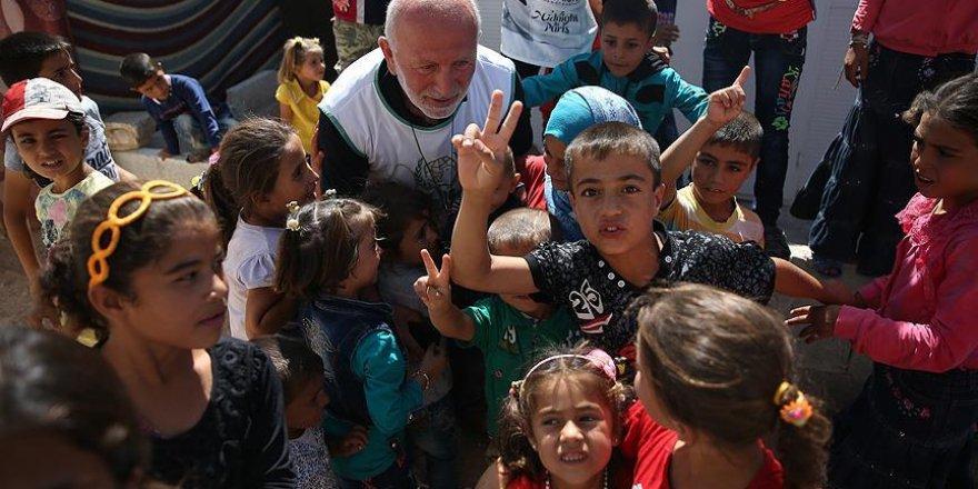Suriyeli yetimlere Türkiye'den kurban eti yardımı