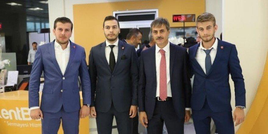 Serdivan Belediyesi'nde bayramlaşma programı gerçekleşti