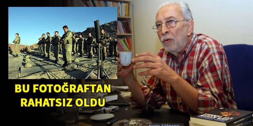 Emin Çölaşan'dan askerlerin namaz kıldığı fotoğrafa tepki