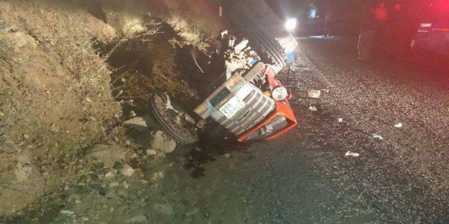 Tosya'da traktör kazası: 1 yaralı