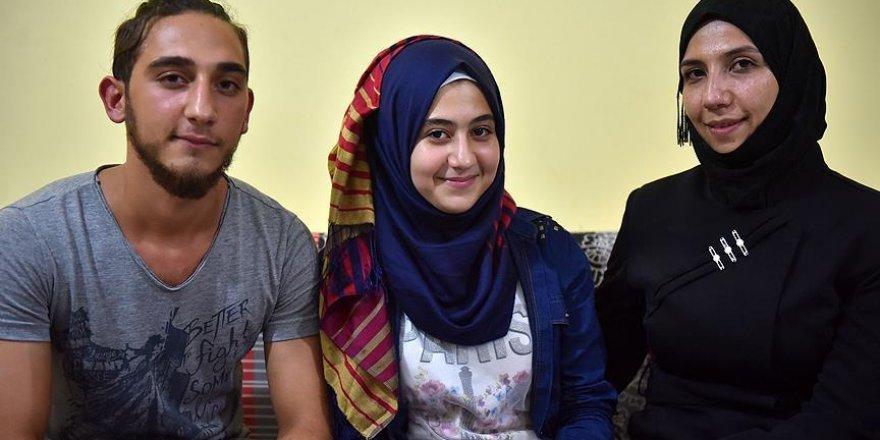 Kameramanın çelme taktığı Suriyelinin aile hasreti bitiyor