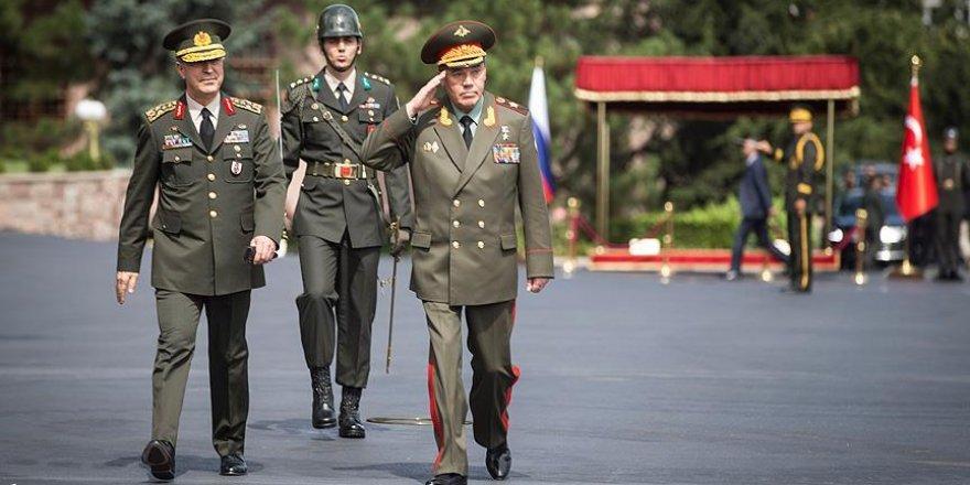 Rusya Genelkurmay Başkanı Orgeneral Gerasimov Ankara'da