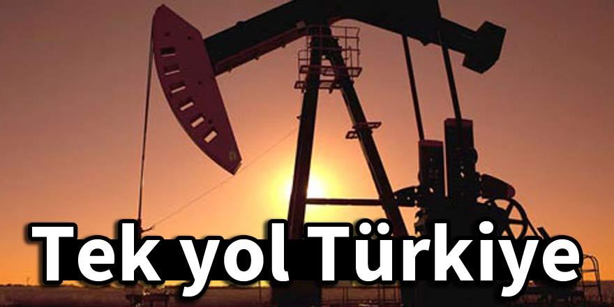 'Tek yol Türkiye'