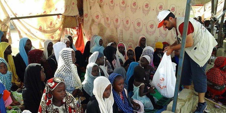 Cansuyu Derneğinden Çad'da kurban yardımı