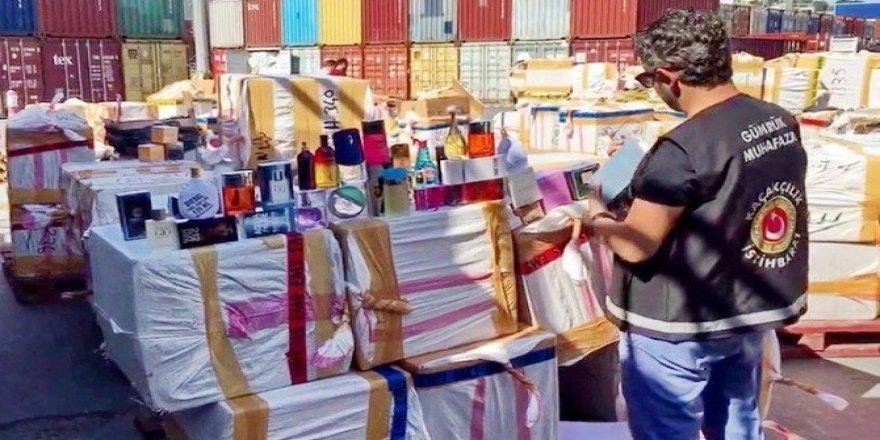 Parfüm kaçakçılarının bayram iştahı kursaklarında kaldı