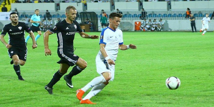 Karabağ ile Slovan Liberec berabere kaldı
