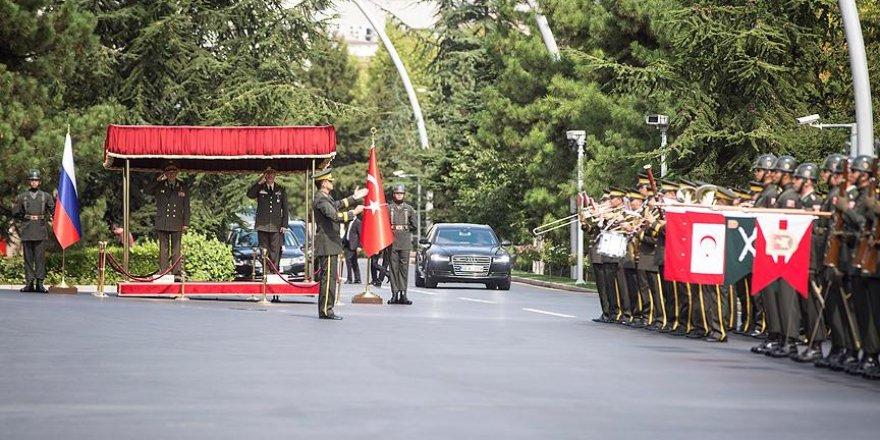 'Gerasimov'un ziyareti askeri anlayış birliğini pekiştirdi'