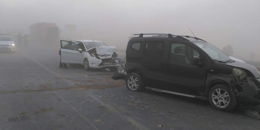 Karapınar'da kum fırtınası