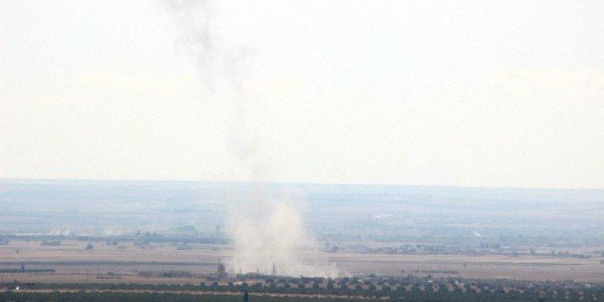 IŞİD'i havadan uçaklar, karadan obüs topları vuruyor