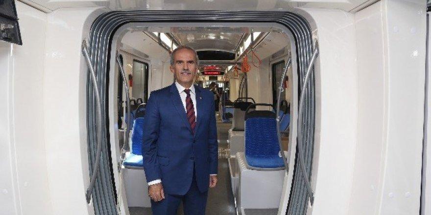 Kocaeli'nin tramvayları da Bursa'dan