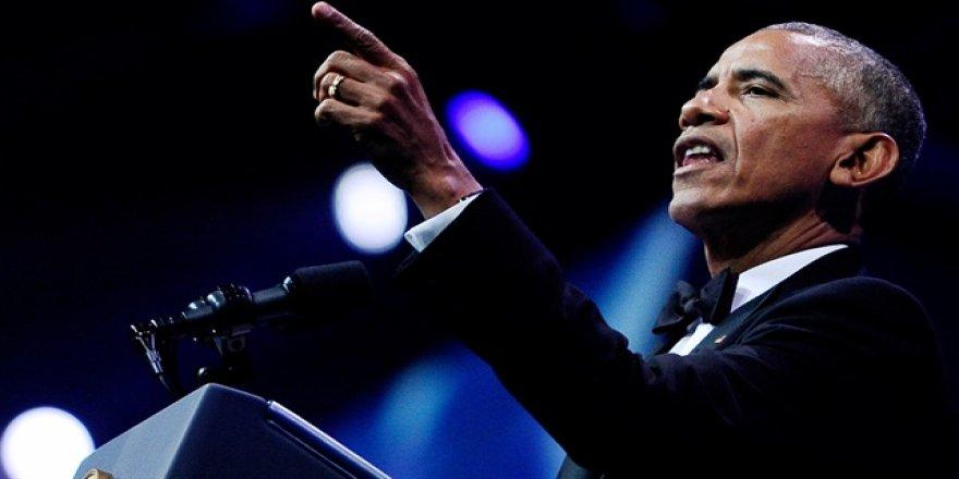 Obama'ya çağrı: Onu bırak beni al