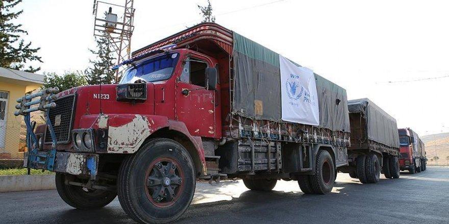 BM'den Esed rejimine yardım konvoyu tepkisi