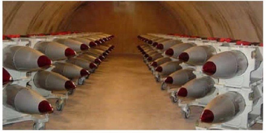 Yeni belgeler sızdı; İsrail'in en az 200 nükleer silahı var