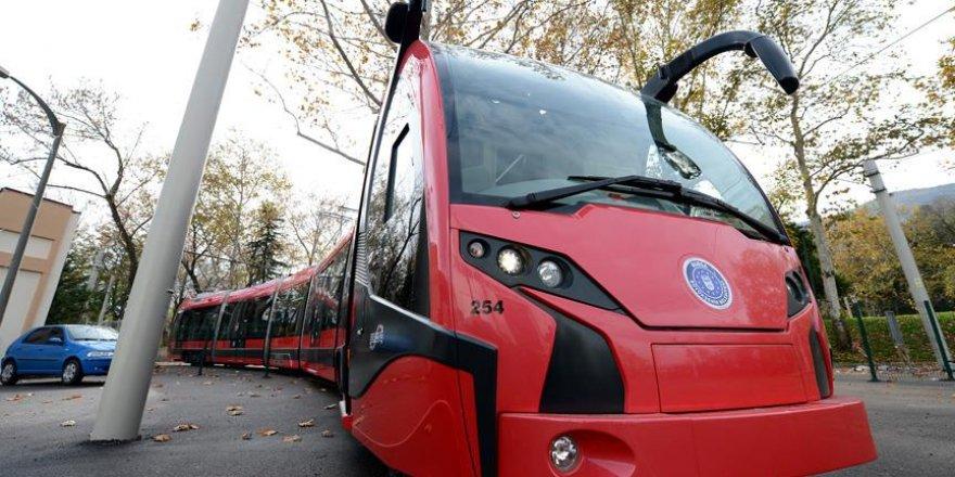 Kocaeli'nin tramvayları Bursa'dan