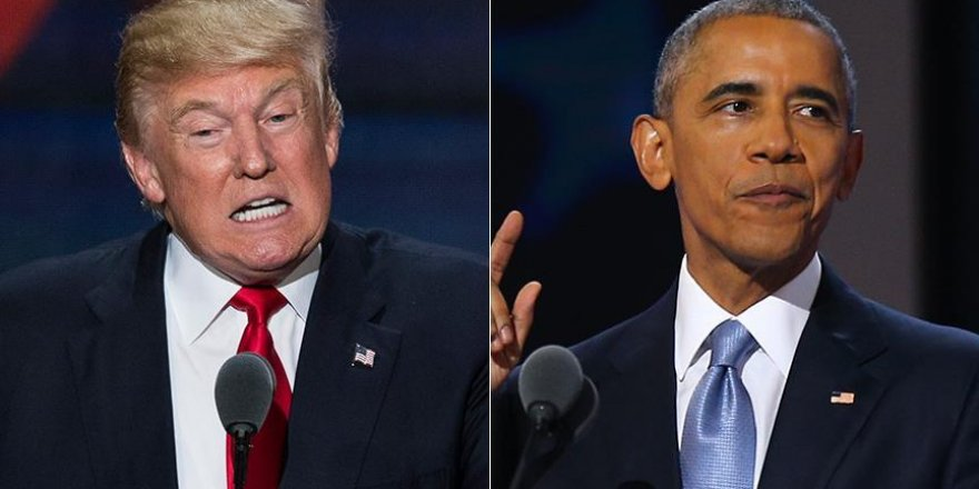 Trump Obama'nın ABD'de doğduğunu sonunda kabul etti