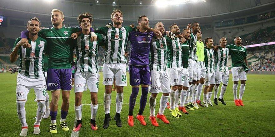 Bursaspor bu sezon evinde ilk galibiyetini aldı