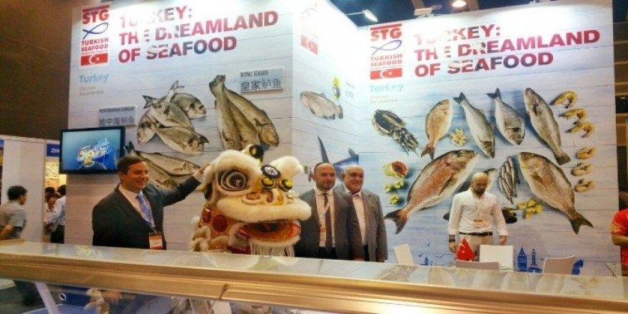 Türk balıkları Çin'e açılan kapı Hong Kong'ta tanıtıldı