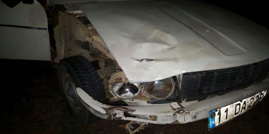 Trafik kazasında 2 kişiyi yarayıp kaçan şahıs yakalandı