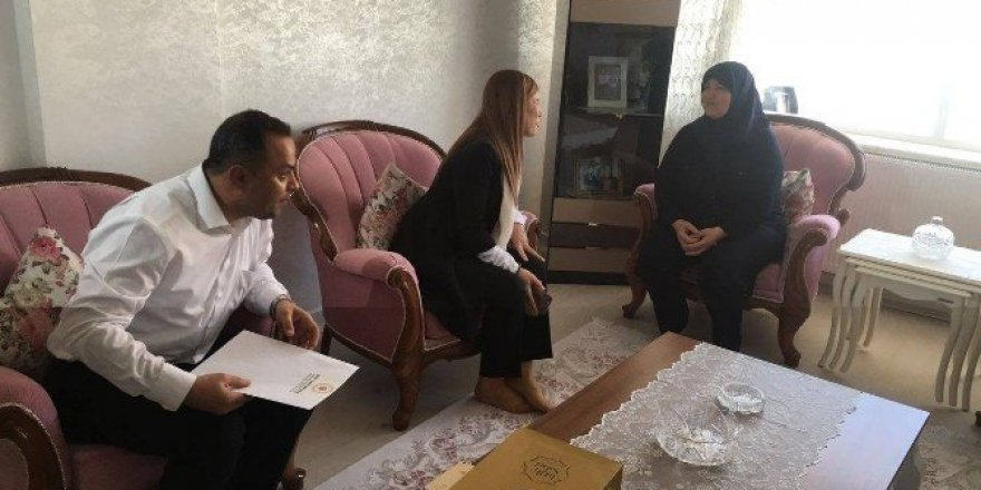 AK Parti heyeti, şehit ailelerini ziyaret etti