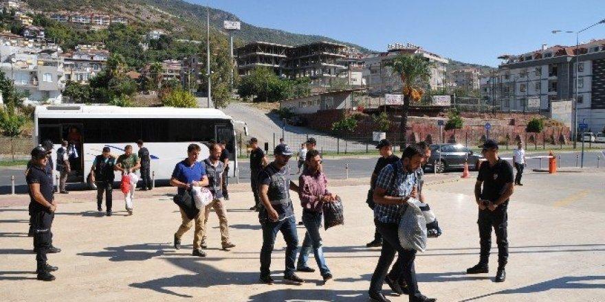 Alanya'da FETÖ soruşturması: 36 şüpheli adliyede