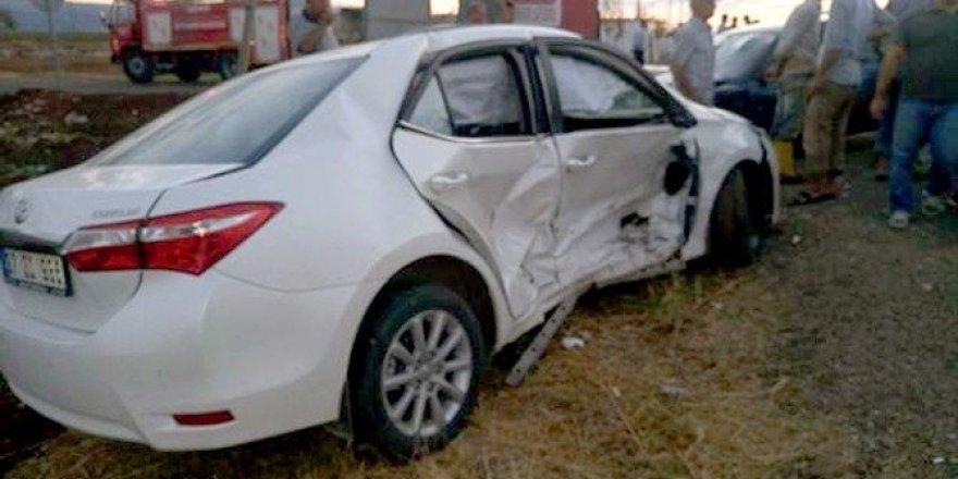 Araban eski Belediye Başkanı kaza yaptı: 3 Yaralı