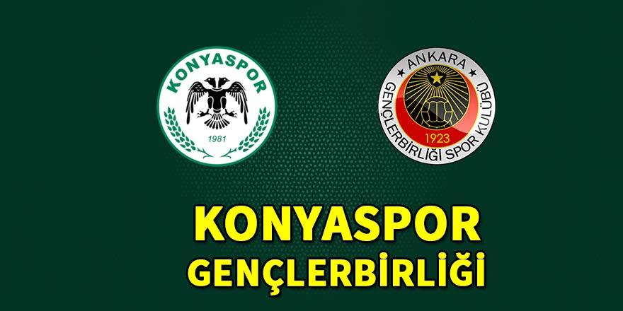 Konyaspor-Gençlerbirliği (canlı anlatım)