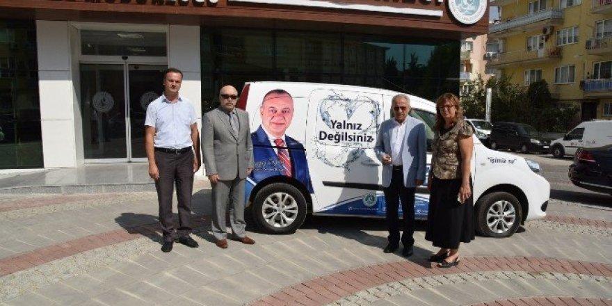 Yeni mobil hizmet aracı vatandaşın hizmetinde