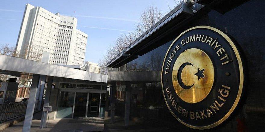 Dışişleri Bakanlığı camiye düzenlenen saldırıyı kınadı
