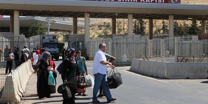 Suriyelilerin 'bayram dönüşü' başladı