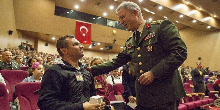 Genelkurmay'da Gaziler Günü için tören düzenlendi