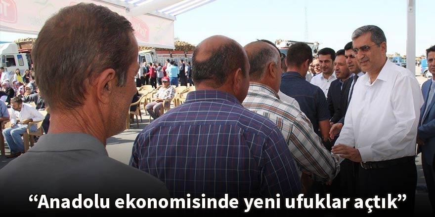 Konuk: Anadolu ekonomisinde yeni ufuklar açtık